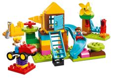 LEGO DUPLO 10864 Veliko igrišče v škatli s kockami