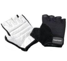 Tunturi fitnes rokavice Fit Easy, črno-bele