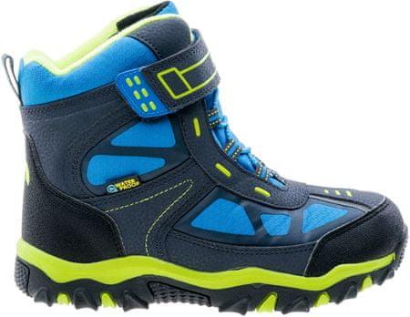 ELBRUS otroški čevlji Lariti Mid, modri/rumeni, 34