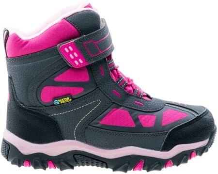ELBRUS otroški čevlji Lariti Mid, roza/sivi, 28