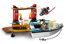 LEGO Juniors 10755 Prenasledovanie v Zaneovom nindža člne