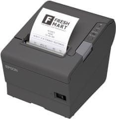 Epson TM-T88V,tmavá,USB+WiFi.,zdroj,kabel (C31CA85321B0)