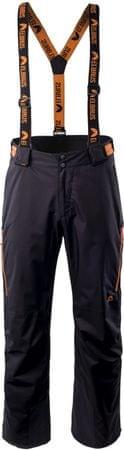 ELBRUS smučarske hlače Olaf, črne/oranžne, M