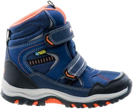 ELBRUS otroški čevlji Tamiko Mid, modra/oranžna, 33
