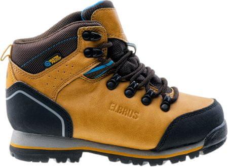 ELBRUS otroški čevlji Taner Mid, rumena/rjava, 34