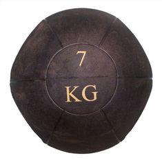 Ruilin medicinska žoga z ročaji, 7 kg