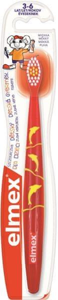 Elmex Children 3-6 let zubní kartáček