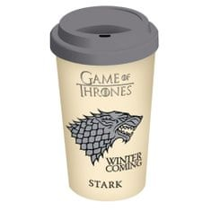 Hrnek Game of Thrones rodu Stark cestovní (0,3 l.)