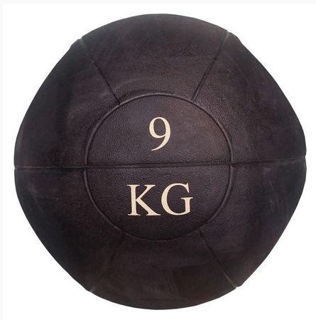 Ruilin medicinska žoga z ročaji, 9 kg