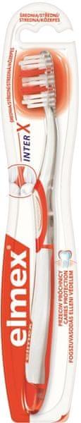 Elmex Caries (střední) zubní kartáček