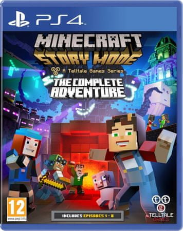 TellTale Games igra Minecraft: Story Mode (PS4)
