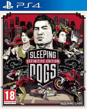 Square Enix igra Sleeping Dogs DE (PS4)