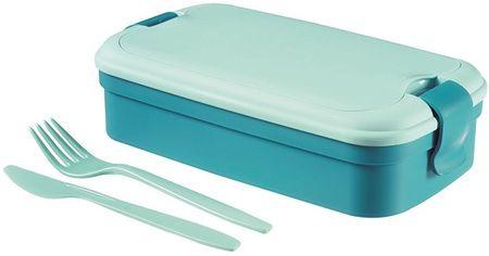 Curver box Lunch & GO modrá