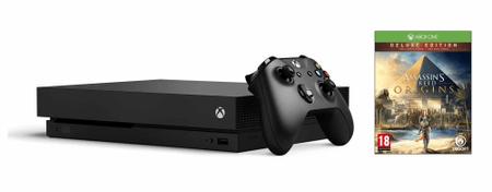 Microsoft Xbox One X 1TB + Assassin's Creed: Origins Deluxe Edition