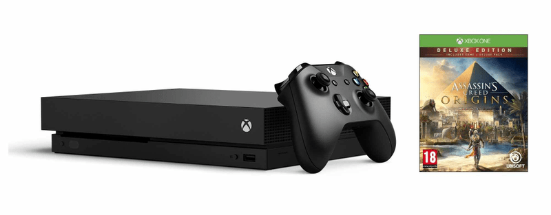 Microsoft Xbox One X 1TB + Assassin's Creed: Origins Deluxe Edition