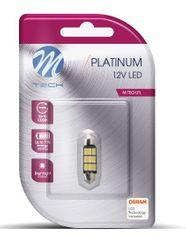 M-Tech žarnica LED C5W 12V CANBUS 36mm 9xSMD5630, hladna bela