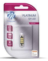 M-Tech žarnica LED C5W 12V CANBUS 41mm 9xSMD5630, hladna bela
