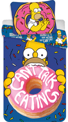 Jerry Fabrics posteljina s uzorkom Homer Donut, 140x200