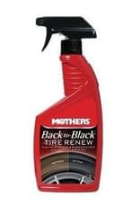 Mothers čistilo za penevmatike Naturally Black Tyre Renew, 710 ml