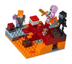 LEGO Minecraft 21139 Bitka v Netherju