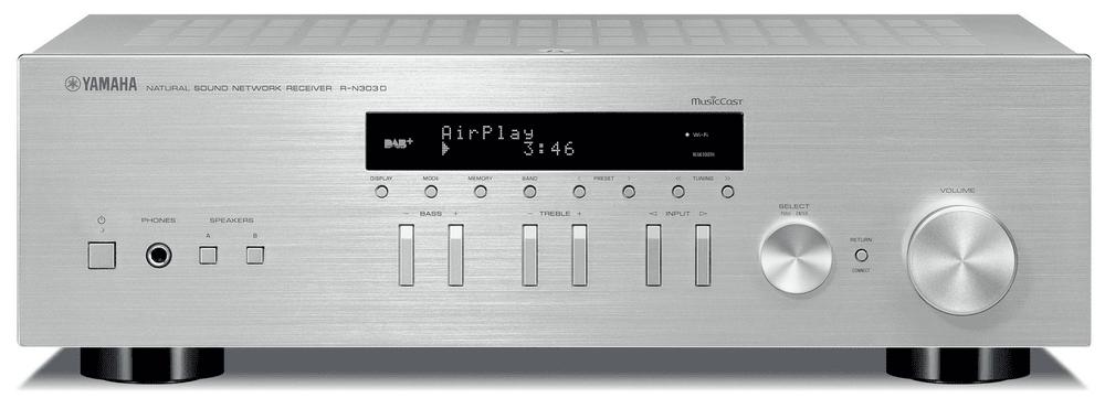 Yamaha R-N303D, stříbrná