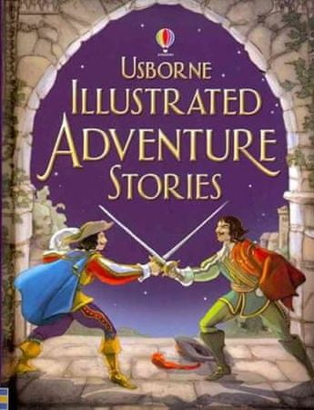 kolektiv autorů: Illustrated Adventures Stories
