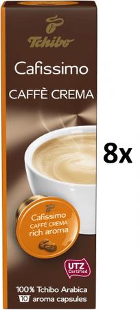 Tchibo Cafissimo Caffé Crema Rich Aroma, 8x10 kapsúl