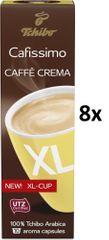 Tchibo Cafissimo Caffé Crema XL, 8x10 kapslí