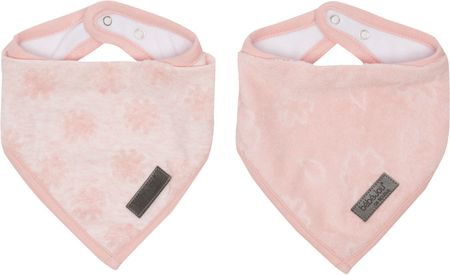 Bebe-jou Bandana slintáček Fabulous 2ks Blush Pink