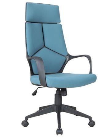 Pisarniški stol OS104, moder