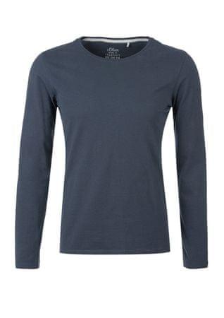 s.Oliver pánské tričko M modrá