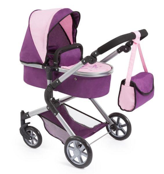 Bayer Design Dětský Kočárek City Neo růžová/fialová