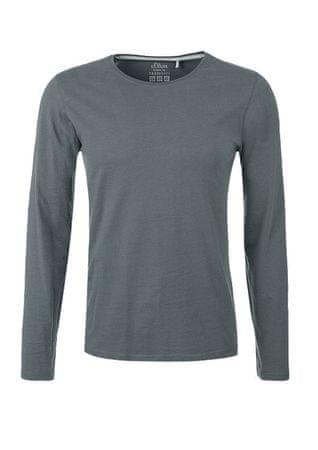 s.Oliver pánské tričko L šedá
