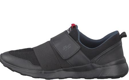 s.Oliver férfi sportcipő 41 fekete