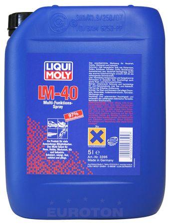 Liqui Moly večnamensko razpršilo LM-40 Multi Function Spray, 5 L