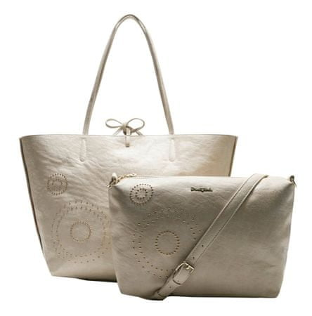 Desigual ženska ročna torbica smetane Valkyria New Capri