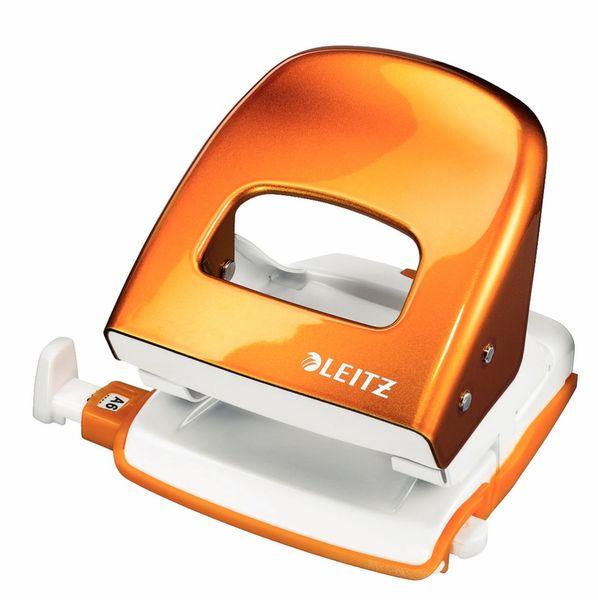 Leitz Děrovač NeXXt 5008 WOW met. oranžový