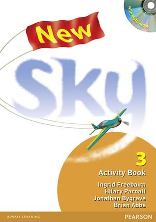Freebairn Ingrid: New Sky Activity Book and Students Multi-Rom 3 Pack
