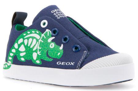 Geox tenisówki chłopięce Kilwi 25 niebieskozielone
