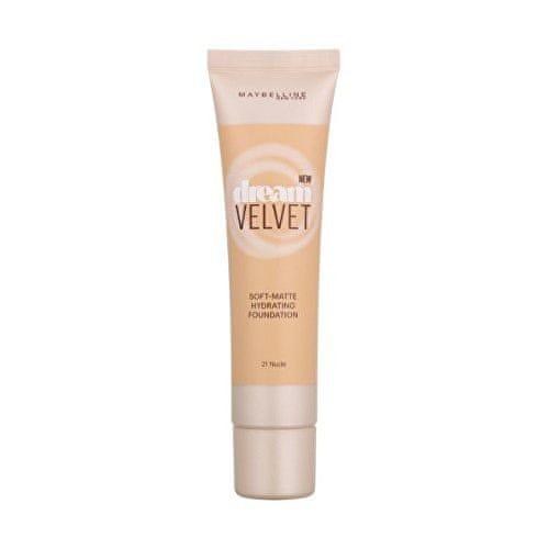 Maybelline Hedvábně jemný hydratující make-up s matujícím efektem Dream Velvet (Soft-Matte Hydrating Foundation