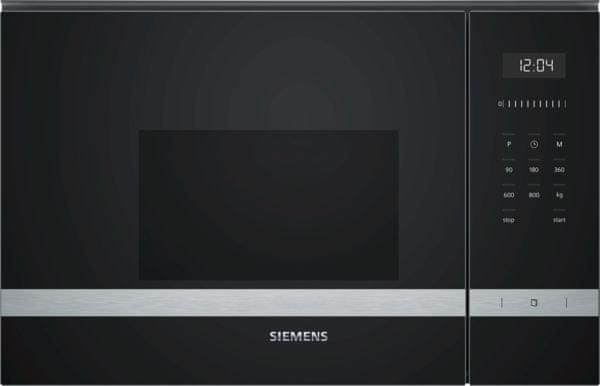 Siemens vestavná mikrovlnná trouba BF525LMS0 - rozbaleno