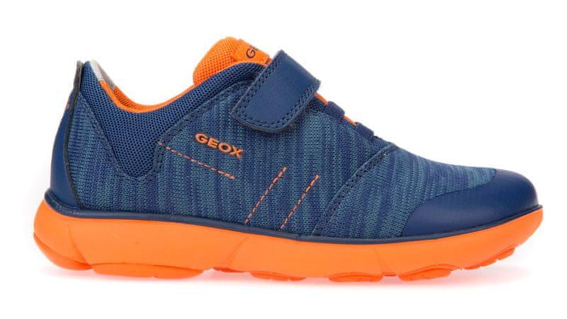 Geox chlapecké tenisky Nebula 27 modrá/oranžová