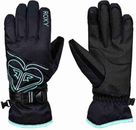 Roxy ženske rokavice, črne, M