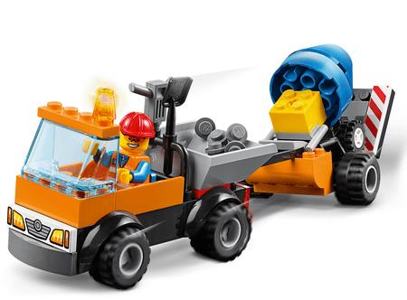 LEGO Juniors 10750 Cestni servisni tovornjak