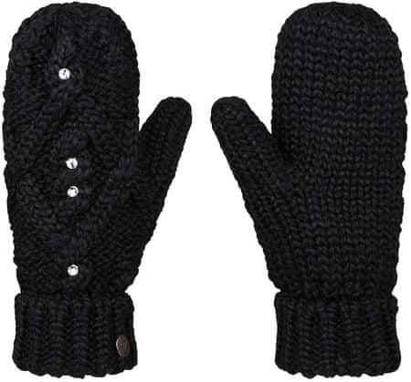 Roxy ženske rokavice Shooting Star, črne