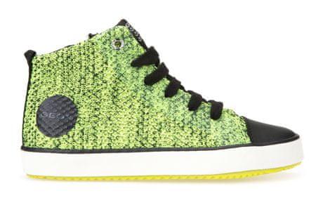 Geox buty dziecięce do kostki Alonisso 28 zielony/czarny
