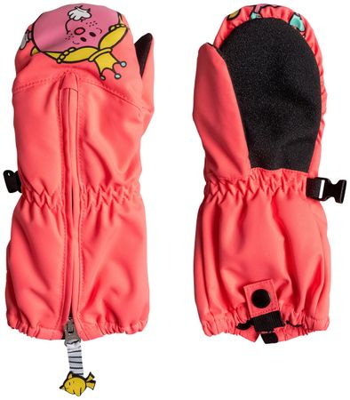 Roxy otroške rokavice Snow's Up Little K, L