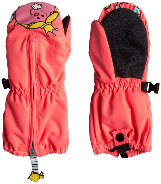 Roxy Snowsup Little K Neon Grapefruit L