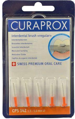 Curaprox Regul Refill 14Z Orange (1,5 - 5,0 mm) 5 ks