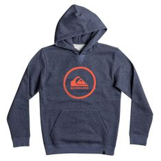 Quiksilver otroška jopa Big Logo Hood Youth, mornarsko modra